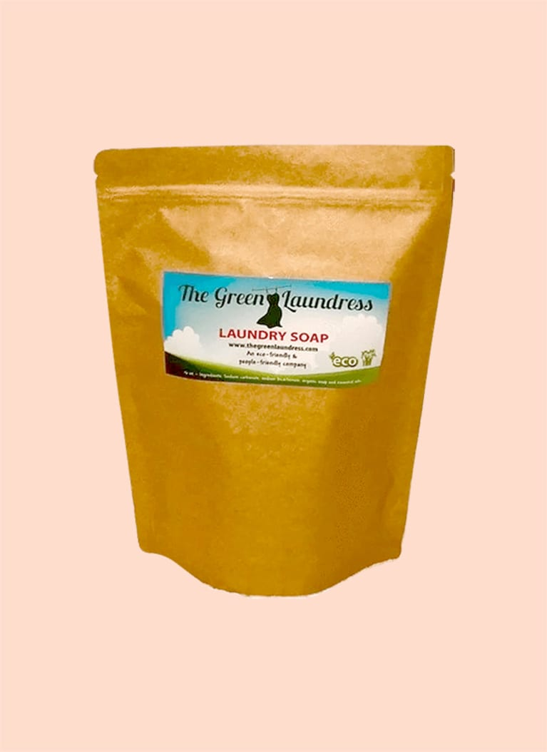 green laundress soap