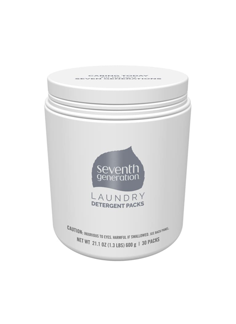 Seventh Generation laundry detergent container