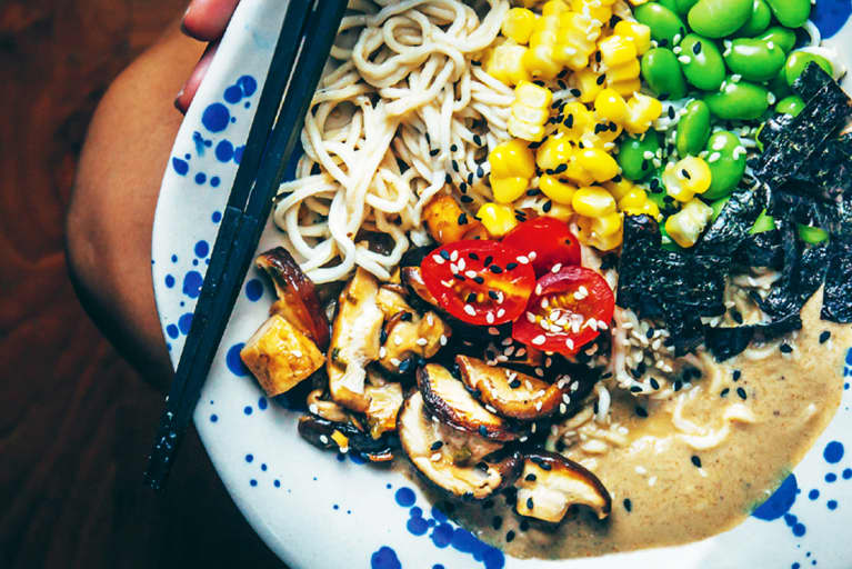 This Vegan Shiitake Ramen Supports Your Brain Health