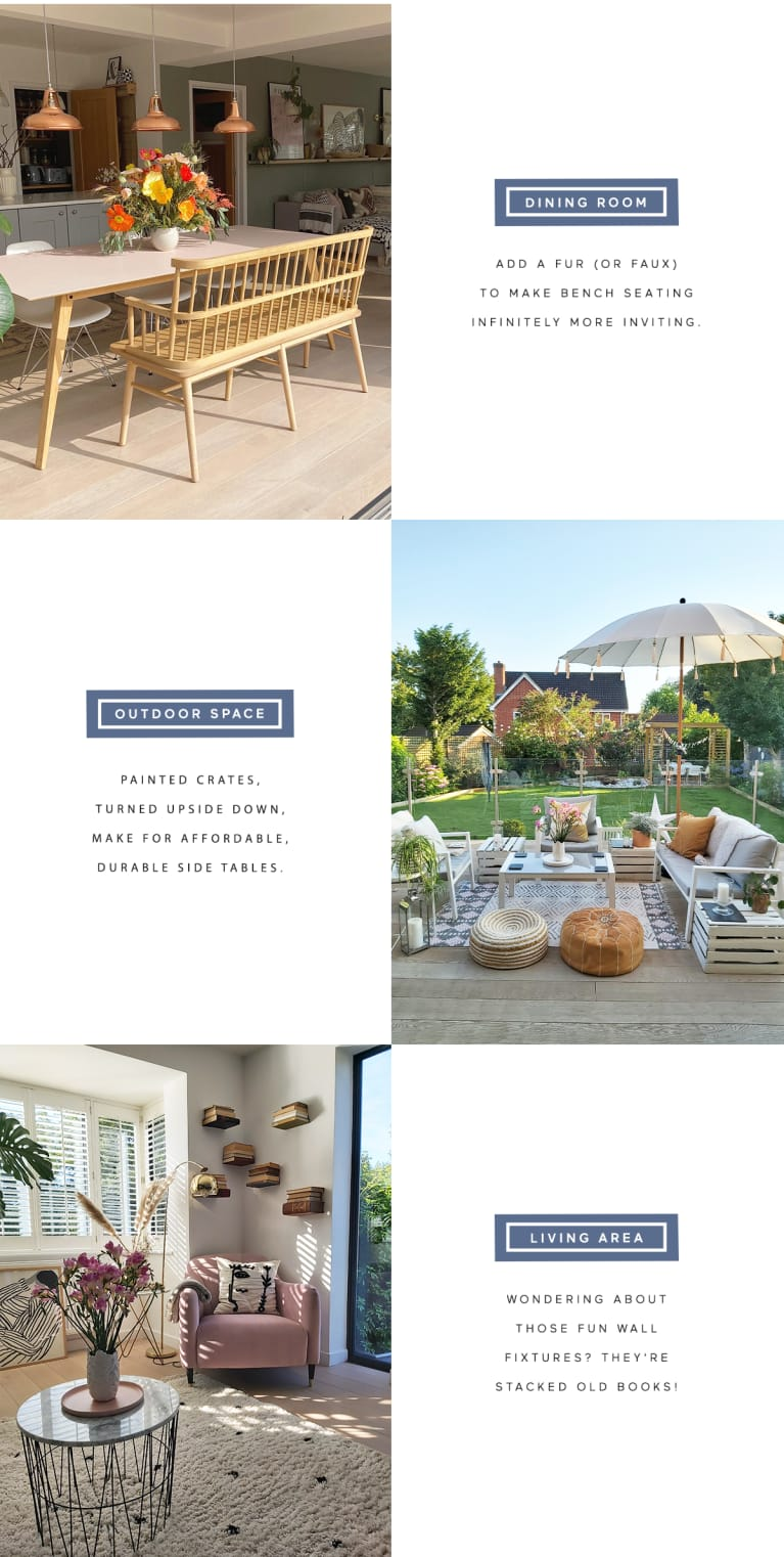 Holistic Home tour Lucy Whitehouse recreate the look