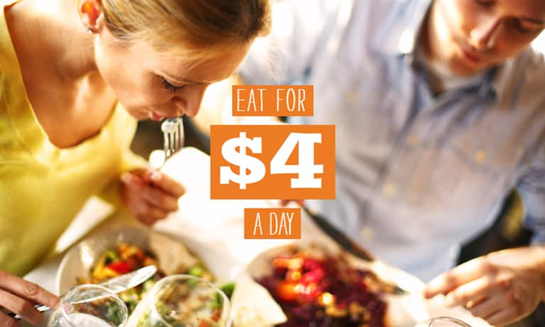What It ACTUALLY Looks Like To Eat On $4 A Day
