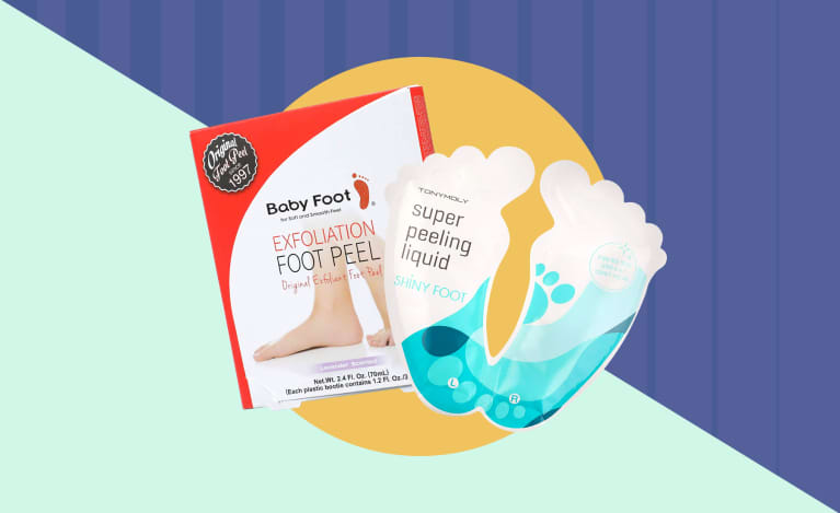 foot peels tutorial