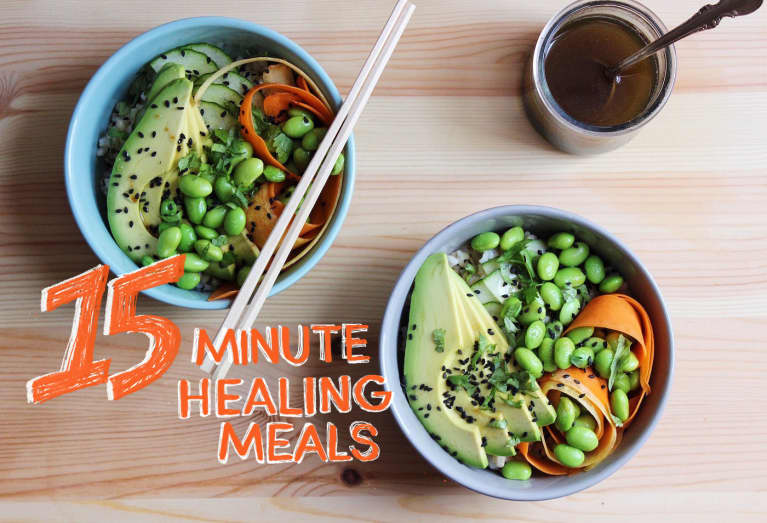 A Vegan Edamame + Avocado Bowl That's Even Better Than Poke