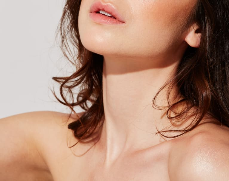 Skin Care For The Neck Down: This Clean Oil Is like A High-Tech Serum
