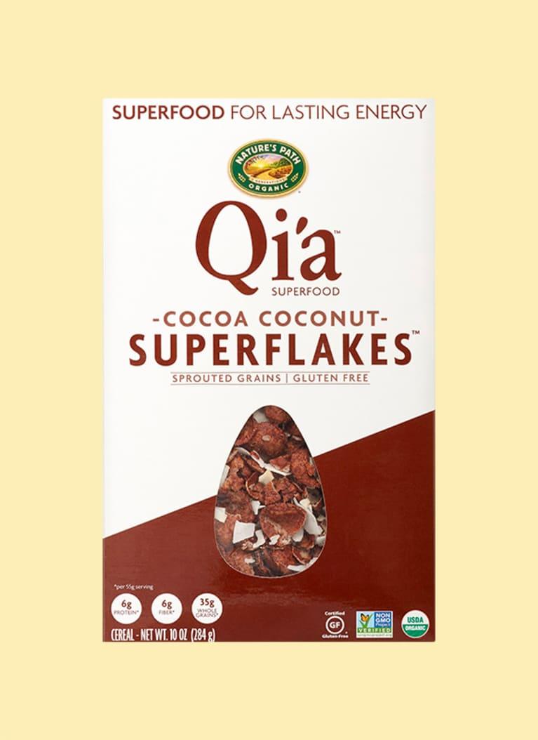 Nature's Path Organic Qi'a Cocoa Coconut Superflakes