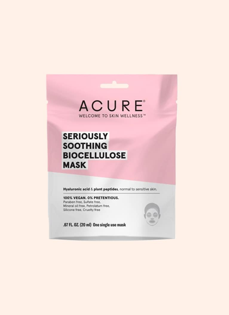 Acure Organics soothing sheet mask