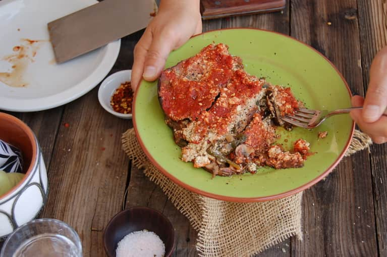 Gluten-Free Eggplant Lasagna