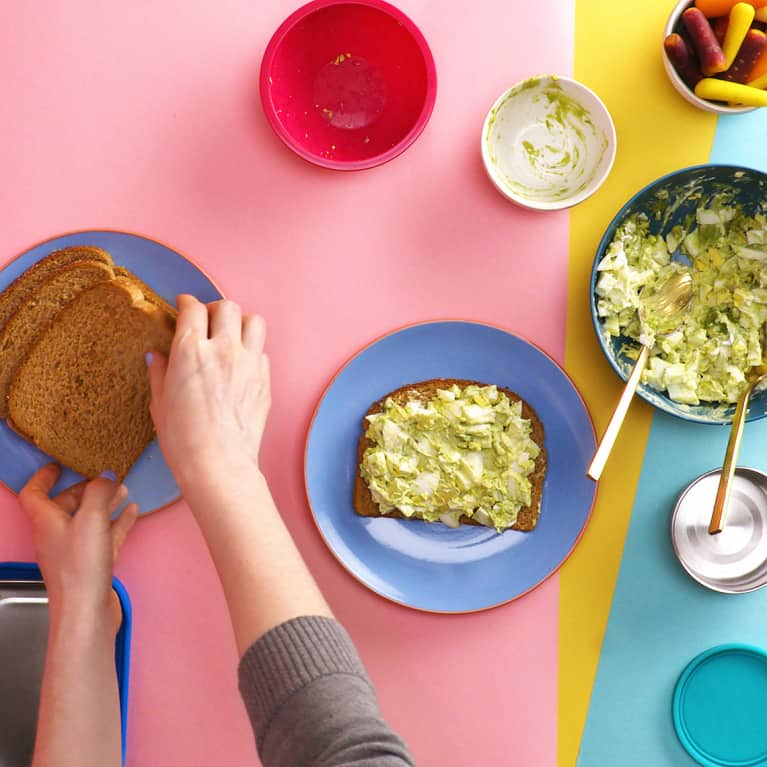 The Genius Equation That Makes Packing A Healthy Kids' Lunch Super Simple