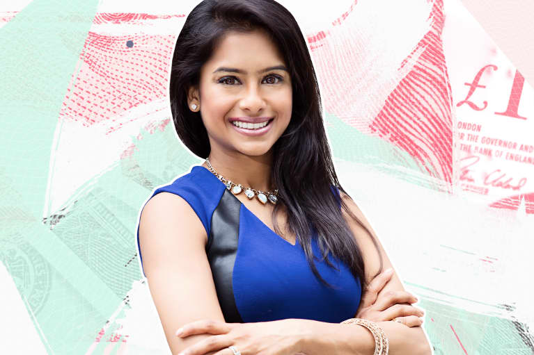 Bindiya Ghandi talks about financial wellness with mindbodygreen