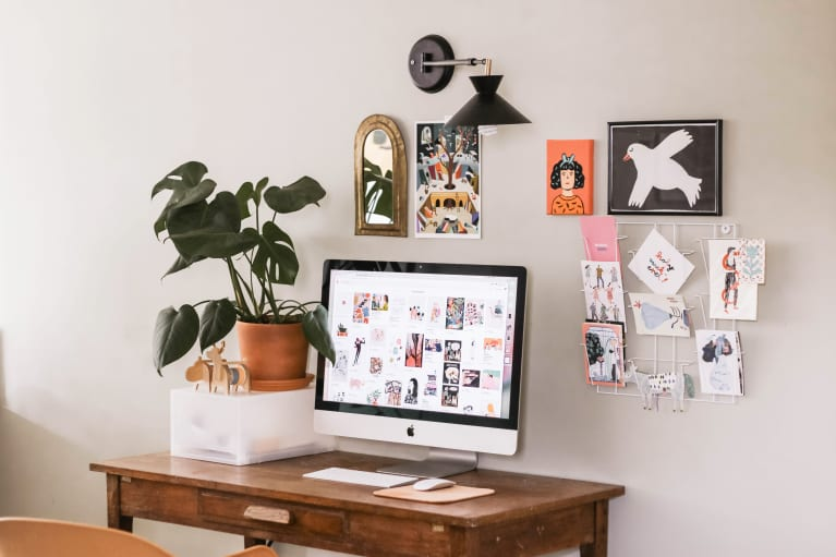 Creative Workspace at Home