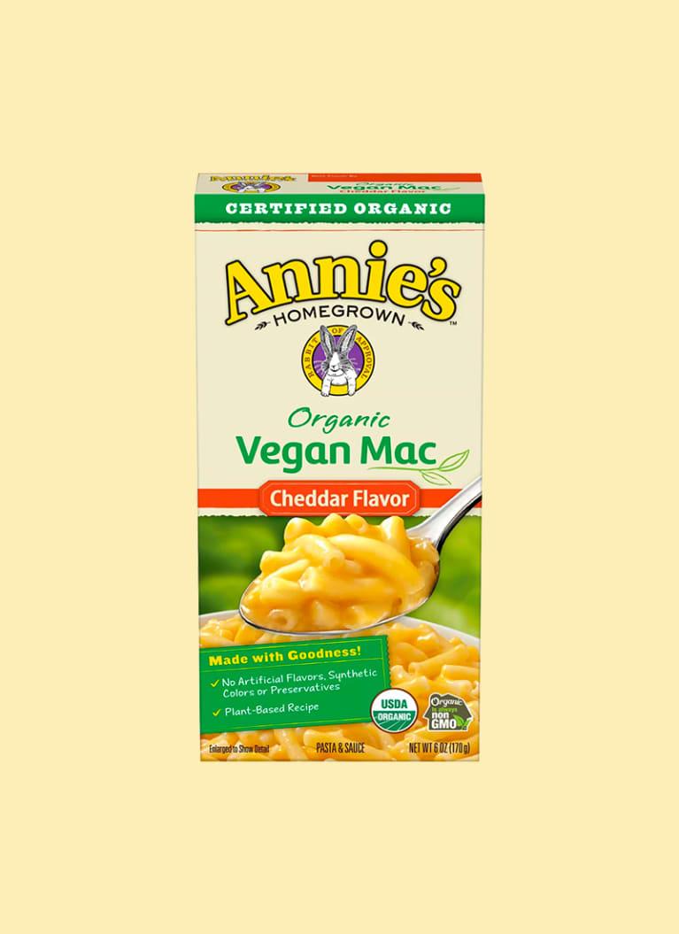 annie's vegan mac and cheese