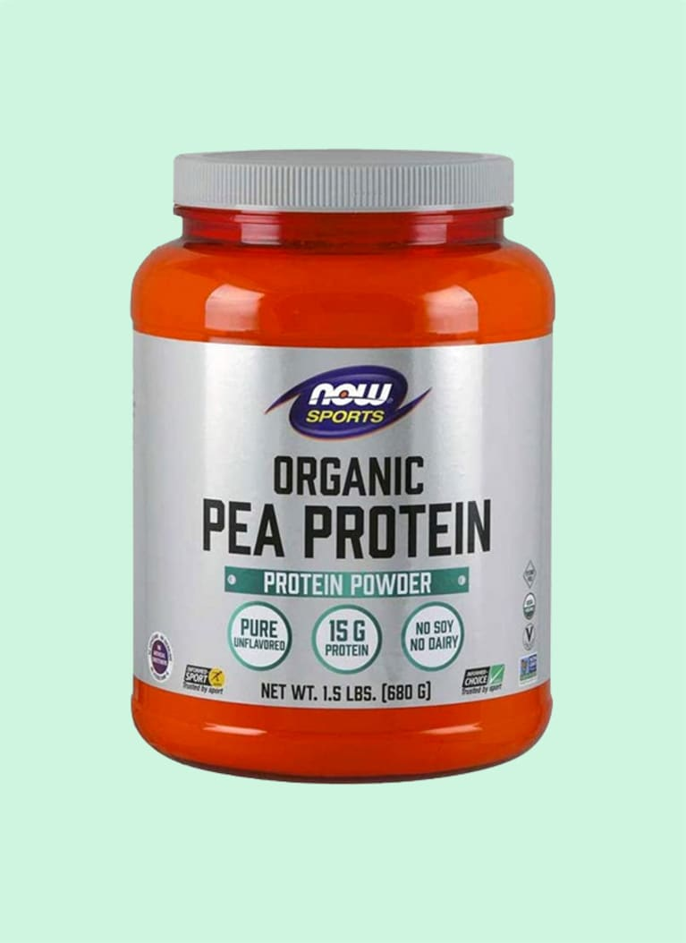 NOW Organic Pea Protein Powder