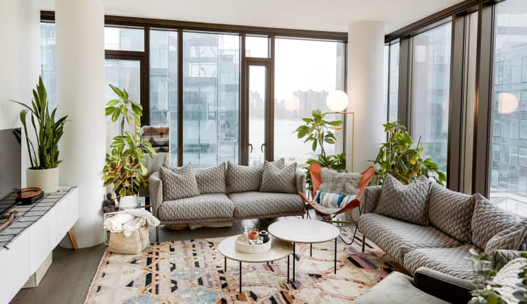 This Bright & Airy City Apartment Welcomes Elements Of Nature Inside