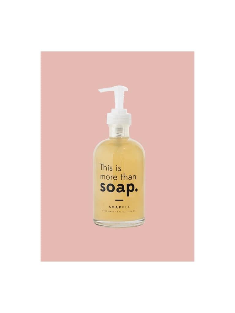 1. Soapply hand soap