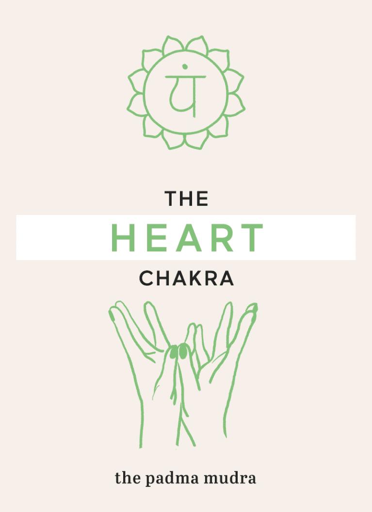 the padma mudra hand gesture