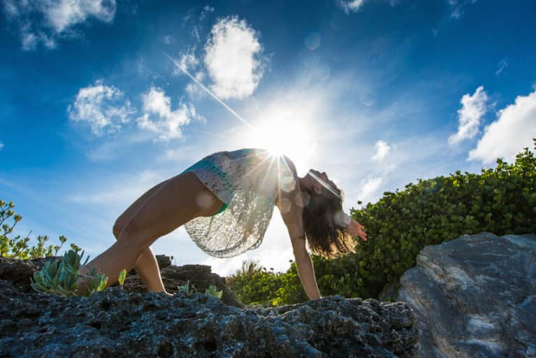 A Yoga Slideshow In Bermuda (No Triangle Pose Here!)