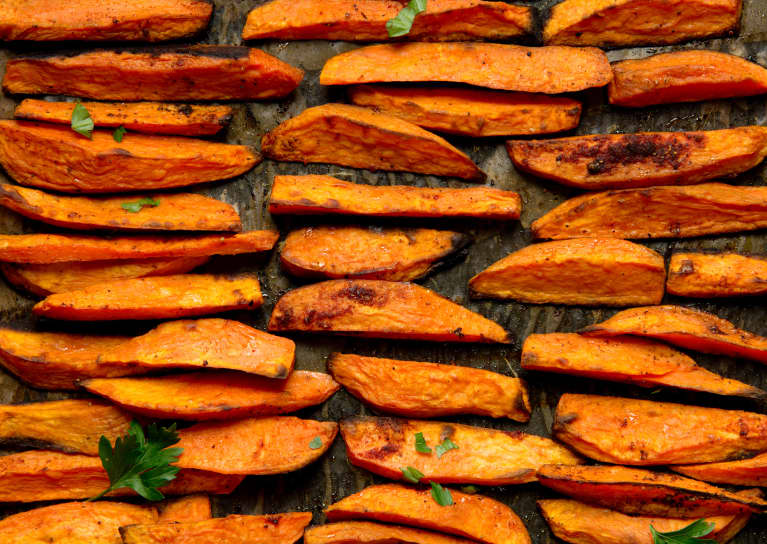 The Weird Health Benefit To Eating Leftover Sweet Potatoes, From A Cardiologist