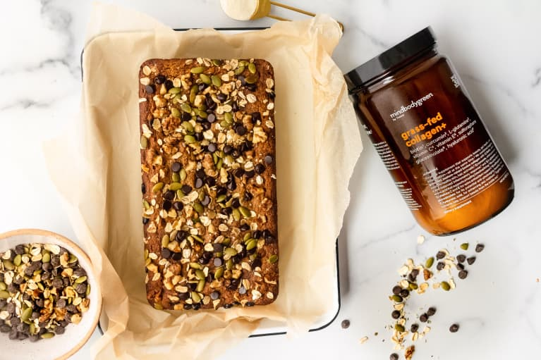 A Toasty, Tasty Breakfast Bread That Will Support Your Skin & Hair From An RD
