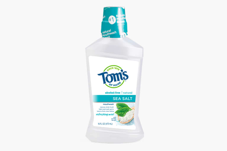 <p>Refreshing Mint Sea Salt Mouthwash</p>