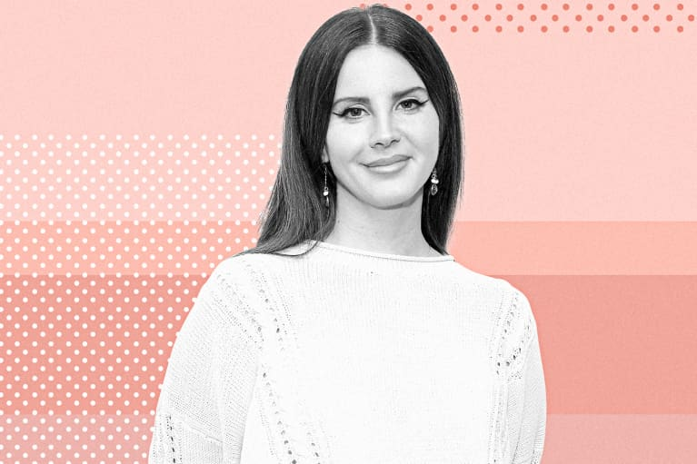 Lana Del Rey Used This Common Kitchen Ingredient To Touch Up Her Roots