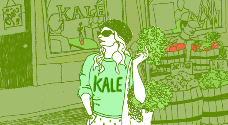 The Strange Mystery Of Who Made Kale Famous ... And Why