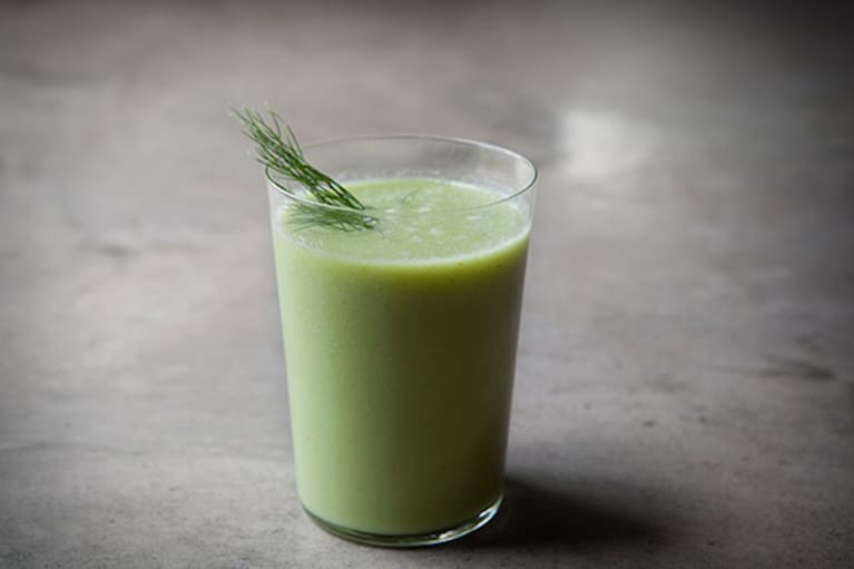 An Anti-Inflammatory Cucumber Smoothie