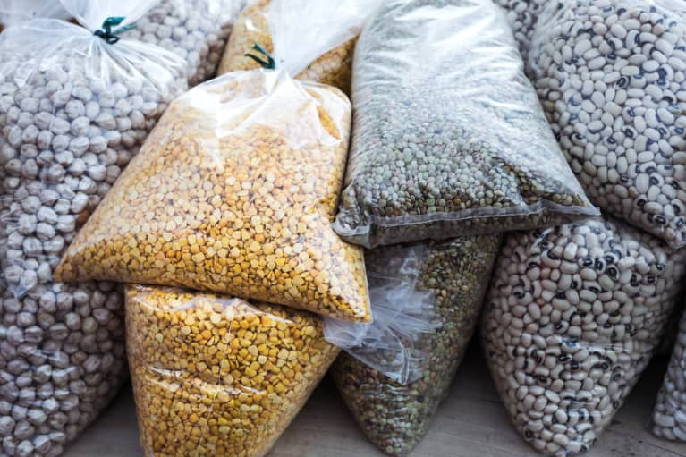 Legumes and other plant proteins