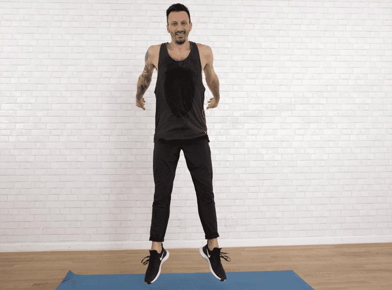 jump squat heel click