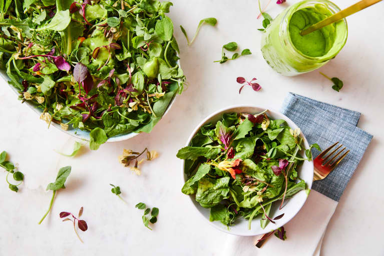 Gut-Healing, Vegan Green Goddess Dressing Takes 5 Seconds To Make. Here's The Secret Ingredient