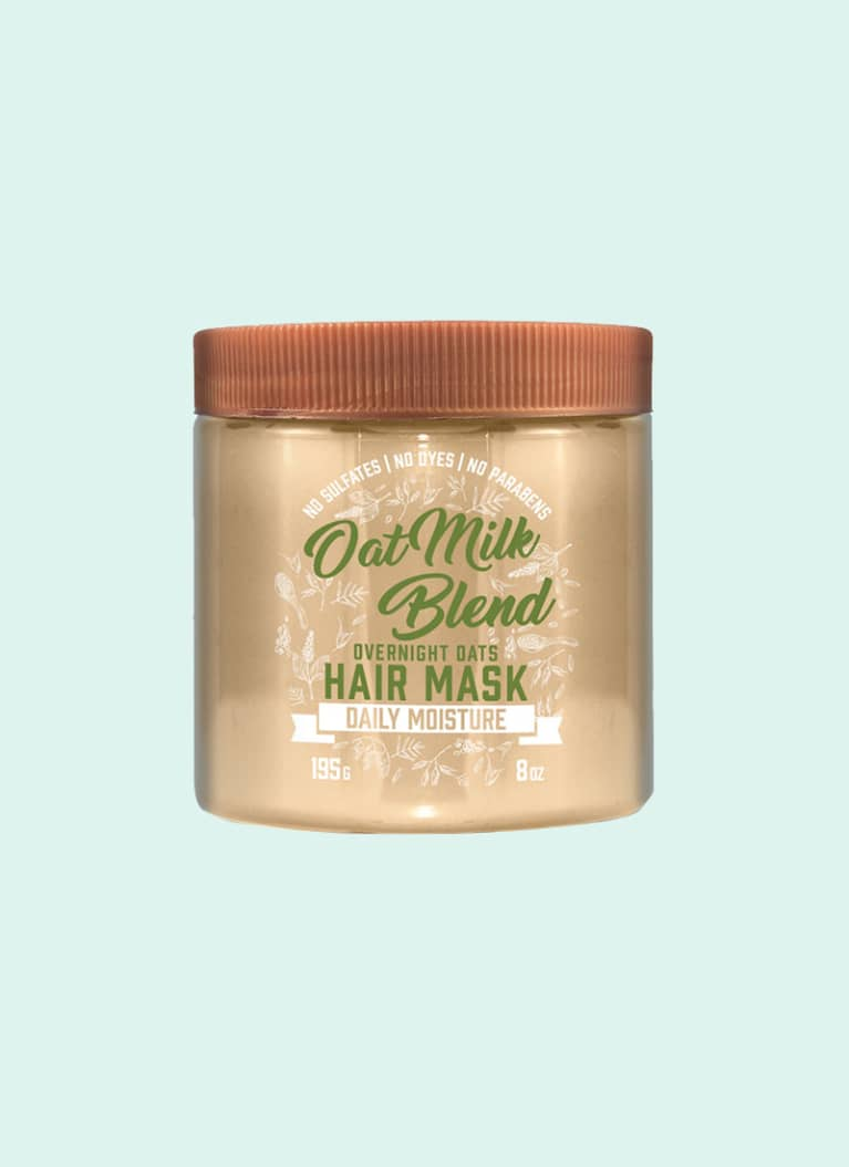 Aveeno Oat Milk Blend Overnight Oats Hair Mask