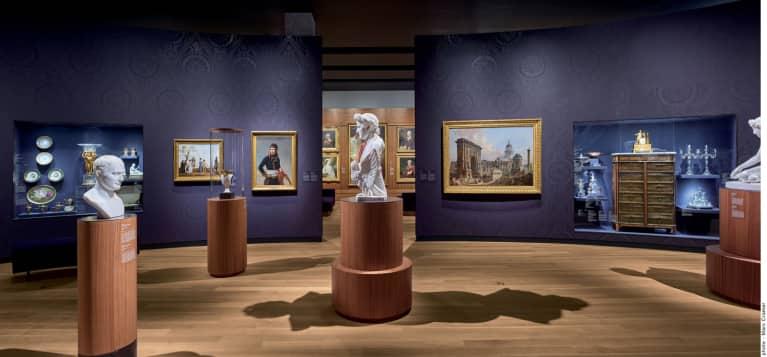 Le Pavillon pour la Paix Michal et Renata Hornstein, niveau 2 – La Galerie Napoléon. Musée des beaux-arts de Montréal