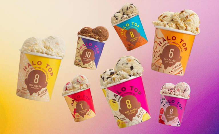 Halo Top's Seven New Keto Ice Cream Flavors