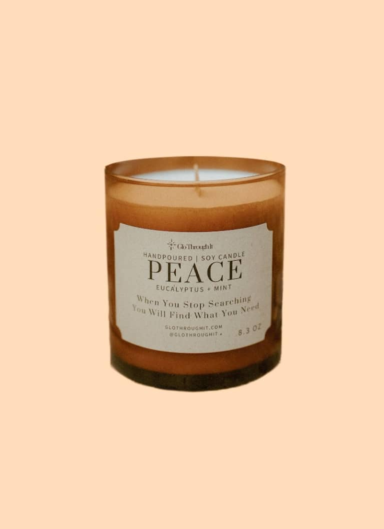 Glo Through It Candle by Peace
