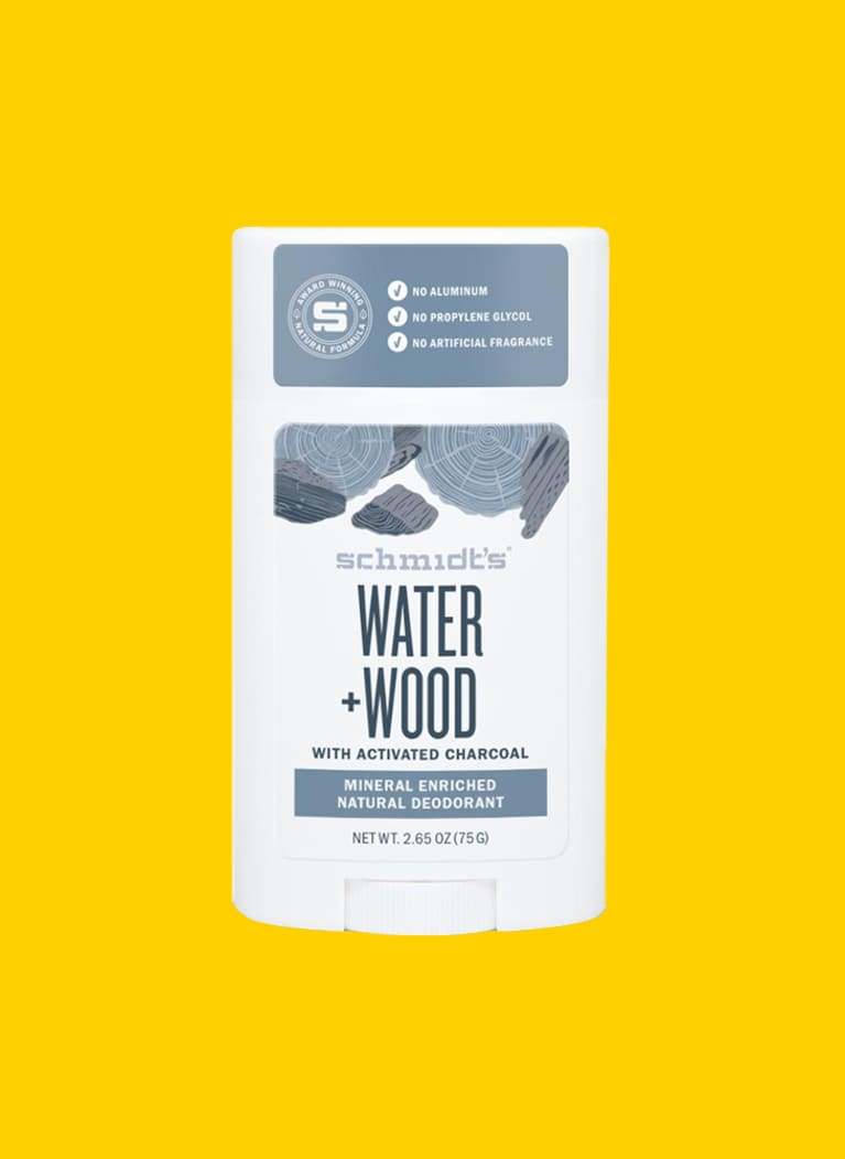 schmidt's naturals deodorant in water + wood