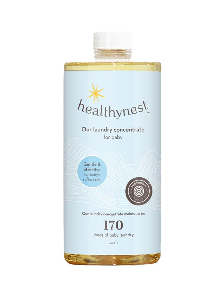 Healthynest laundry detergent bottle