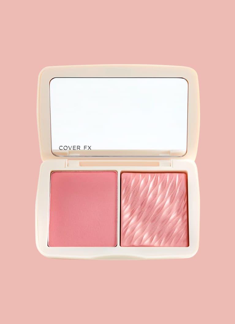 CoverFX Monochromatic Matte Shimmer Blush Duo