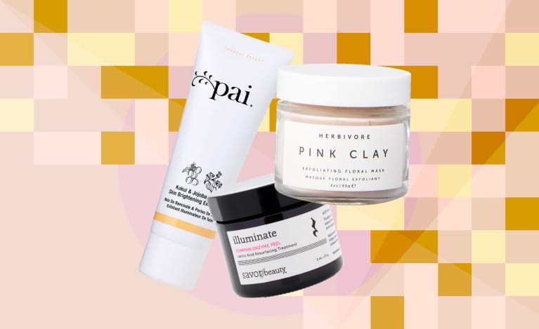 The best clean, natural exfoliators