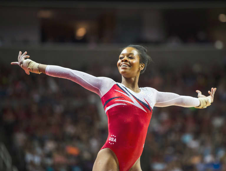 The Game-Changing Words That Helped Gabby Douglas Win A Gold Medal