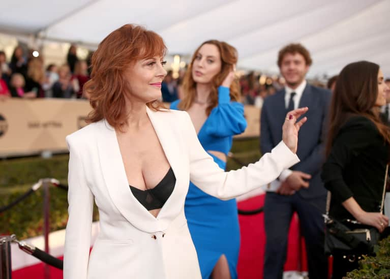 "Piers Morgan Called Susan Sarandon's Cleavage ""Tacky."" Is It Sexism Or Does He Have A Point?"