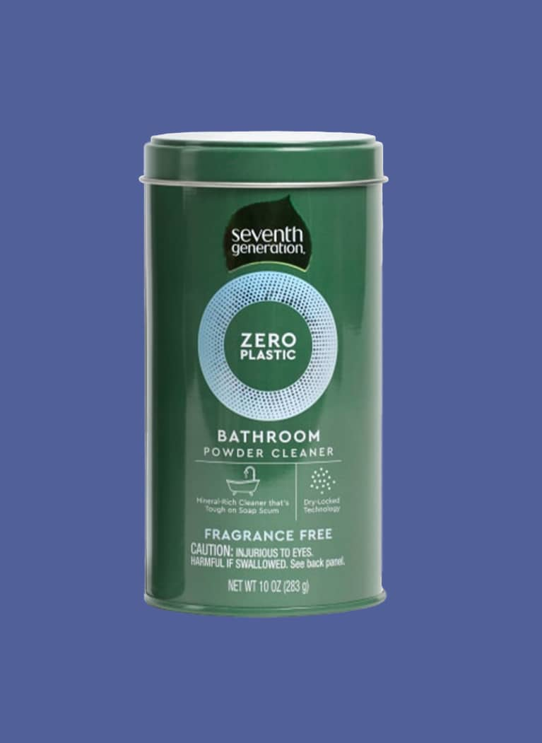 Seventh Generation plastic-free shower cleaner can
