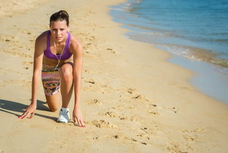 Get Ready To Sweat! A 20-Minute HIIT Workout You Can Do Anywhere