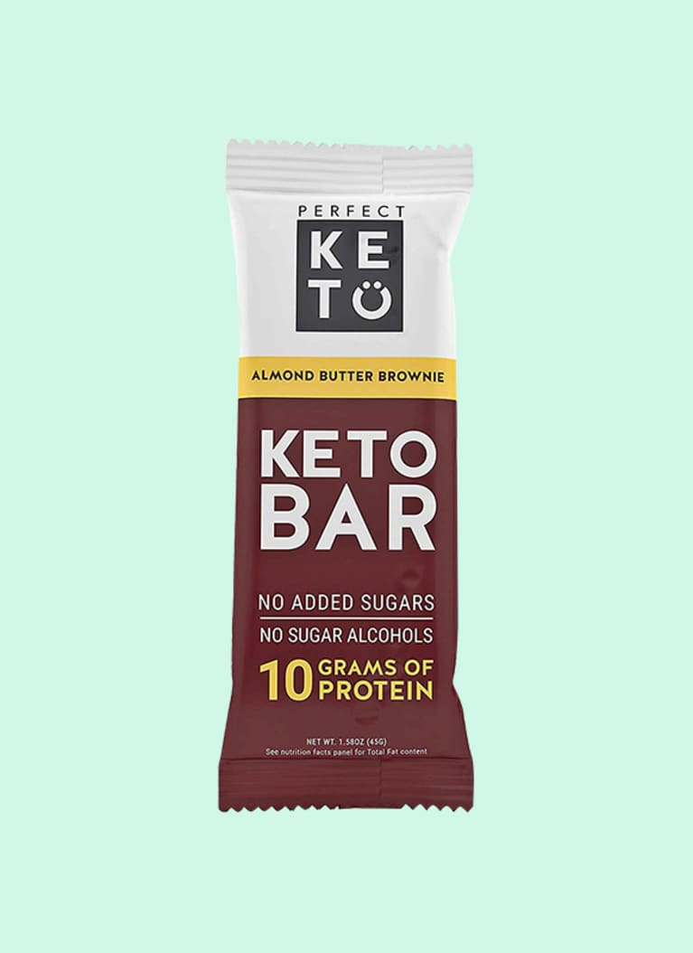 Perfect Keto Almond Butter Brownie Bar