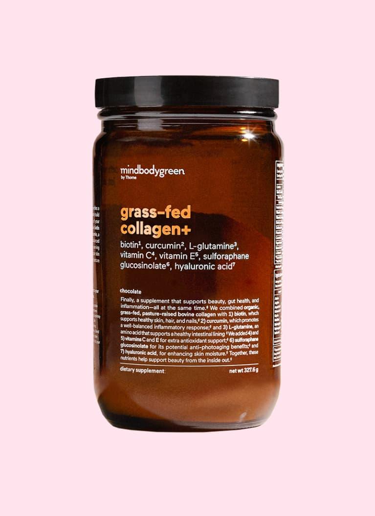 mindbodygreen grass-fed collagen+