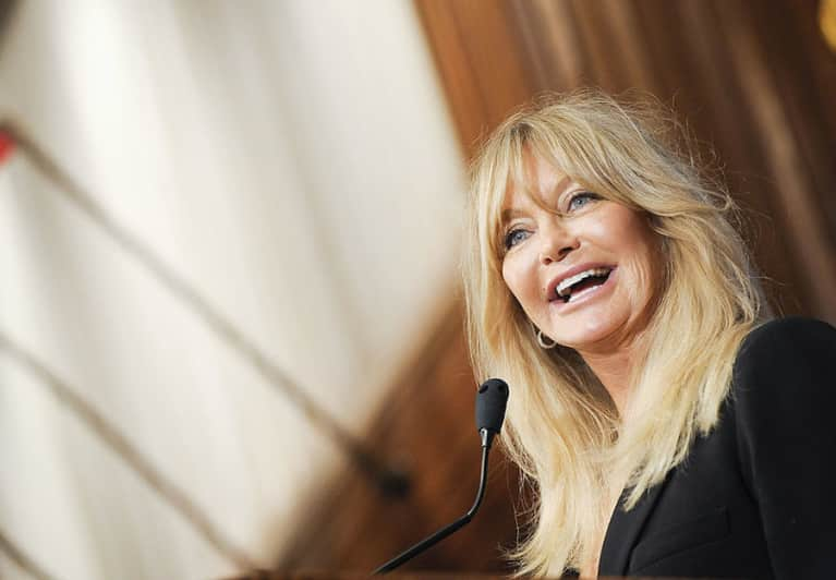 Why Goldie Hawn Has The Best Fitstagram Of All Time
