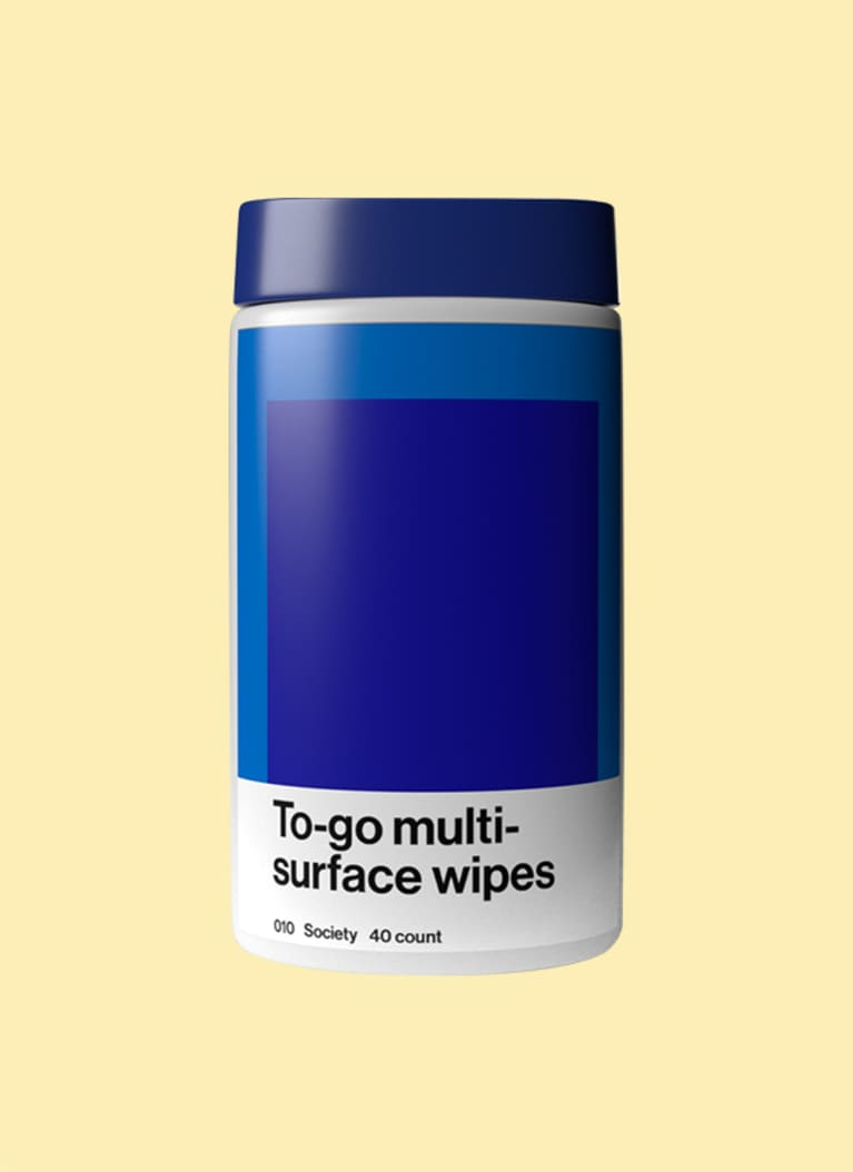 5. Society To-Go Surface Wipes