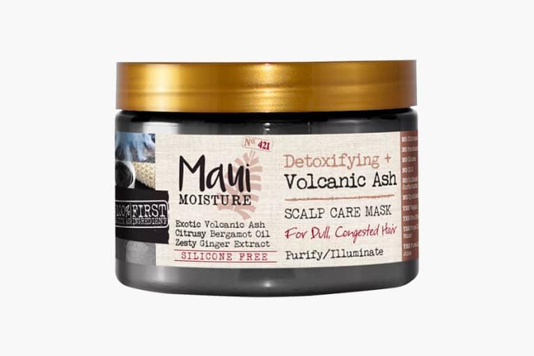 <p>Maui Moisture Detoxifying + Volcanic Ash Scalp Care Mask</p>