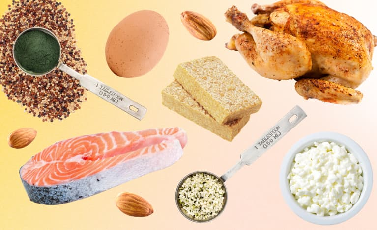 How Much Protein You Should Eat In Your 30s, 40s, 50s & Beyond