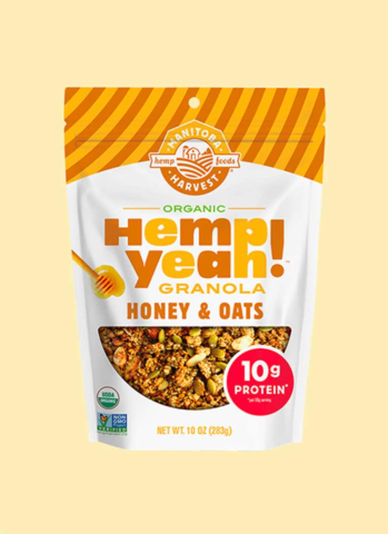 Manitoba Harvest Honey & Oats Hemp Yeah! Granola