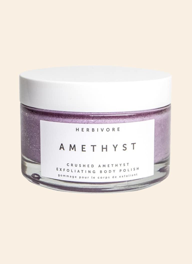 Herbivore Botanicals amethyst body polish