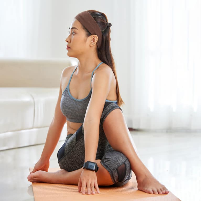 Feeling Bloated? These 3 Yogi-Approved Moves May Help